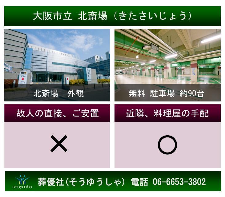 大阪市立 北斎場のご案内